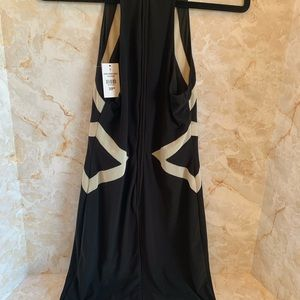 City Triangles Dresses - City triangles black & cream dress. Size 7.